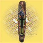 Maszk aboriginal széles 1m C
