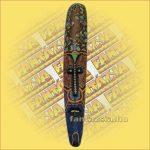 Maszk aboriginal vékony C