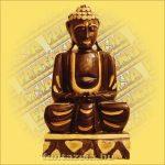 Buddha ülő 40 cm