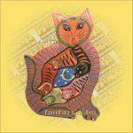 Puzzle mix macska
