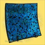 Tál mozaik háromszög/négyzet nagy C