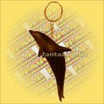 Kulcstartó Delfin Fekete