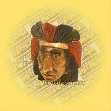 Indiánfej