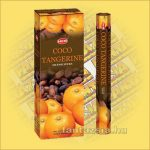 HEM Kókusz Mandarin illatú indiai füstölő /HEM Coco Tangerine/