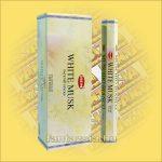 HEM Fehér Pézsma illatú indiai füstölő /HEM White Musk/