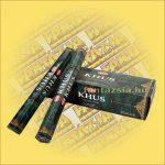 HEM Khus illatú indiai füstölő /HEM Khus/