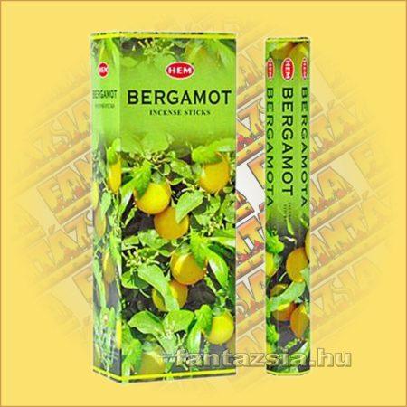 HEM Bergamott illatú indiai füstölő /HEM Bergamot/