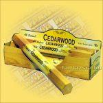 Cédrusfa füstölő/Tulasi Cedarwood