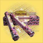 Bíbor Rózsa illatú füstölő/Tulasi Purple Rose