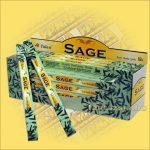 Zsálya füstölő/Tulasi Sage