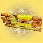 Floral óriás füstölő
