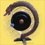 Gong sárkányos félkör 70cm