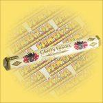 Tulasi Cseresznye és Vanilia illatú füstölő / Tulasi Cherry Vanilla