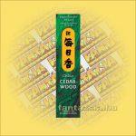 Cedarwood (Cédrus) Morning Star Japán füstölő