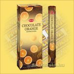 HEM Csokoládé Narancs illatú indiai füstölő /HEM Chocolate Orange/