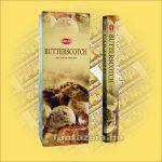 HEM Tejkaramella indiai füstölő /HEM Butterscotch /