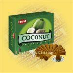 Kókusz Illatú Kúpfüstölő / HEM Coconut