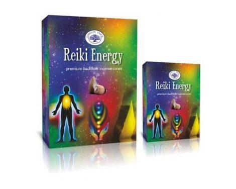 Green Tree-Reiki Energy-Reiki Energia-Back Flow lefelé áramlós kúp (folyékony füst)