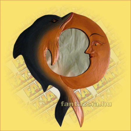 Tükör hold/delfin