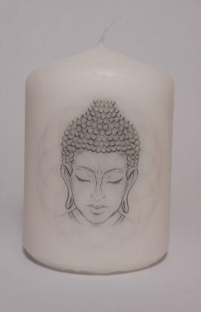 Buddha I-kicsi gyertya