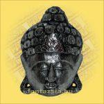 Buddha maszk ezüst színű 20cm