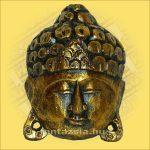 Buddha maszk arany színű 20cm