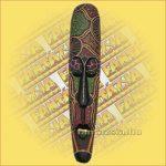 Maszk aboriginal széles 1m A