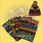 Malatartó/Ékszertartó textil zsák