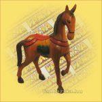 Ló faragott/festett