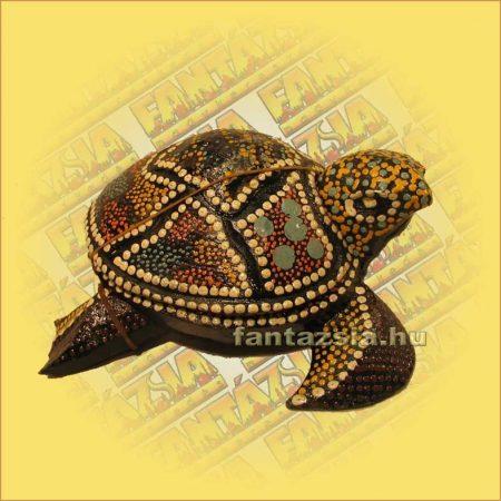 Teknős hamutartó aboriginal nagy A