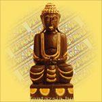 Buddha ülő 60 cm