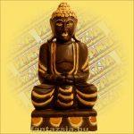 Buddha ülő 50 cm A