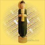 Buddha álló zöld
