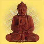 Buddha szobor ülő 40cm B