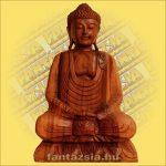 Buddha szobor ülő 60cm A