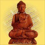 Buddha szobor ülő 60cm B