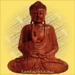 Buddha szobor ülő 50cm A