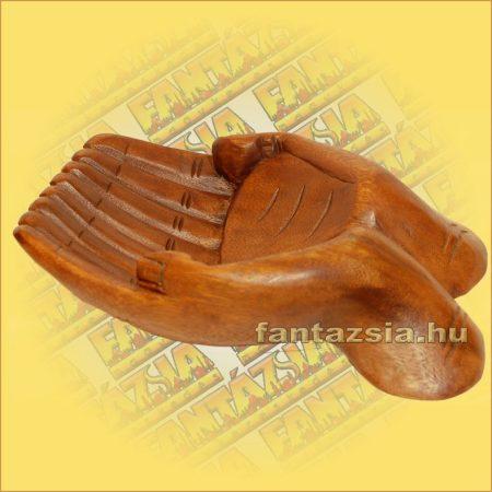 Névjegytartó-Kínáló Kéz 30cm