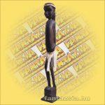 Primitív törzsi faragvány/Asmat figura fiú