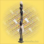 Primitív törzsi faragvány/Asmat figura vékony