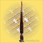 Primitív törzsi faragvány/Asmat figura rudal nagy