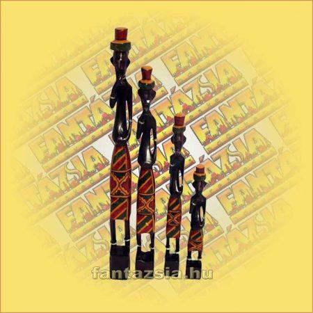 Afrikai figura szett 4db/szett A
