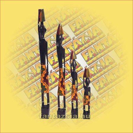 Afrikai figura szett 4db/szett C
