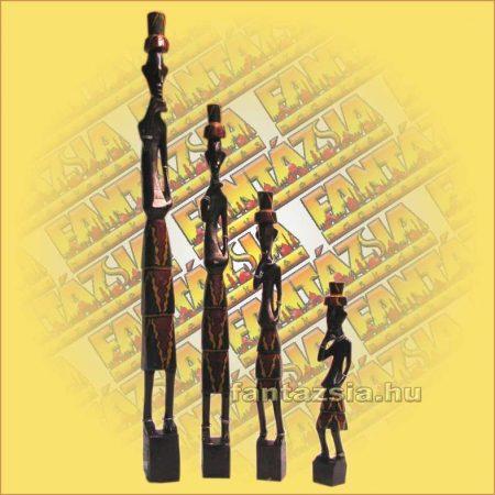 Afrikai figura szett 4db/szett D