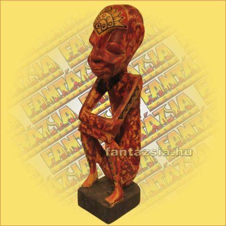 Antik hatású lomboki szobor A