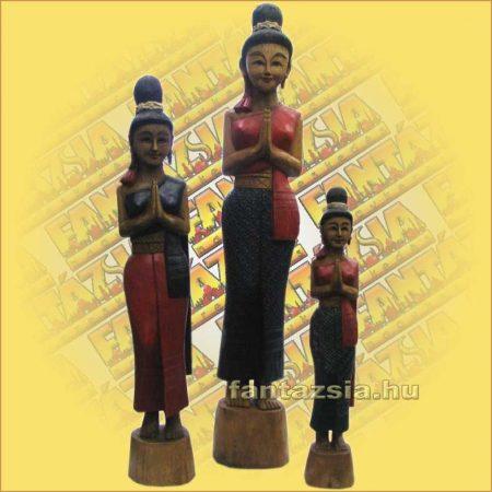 Thai köszöntő női alak/Sawadee 125cm