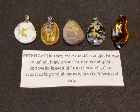 PETHO-Rúna medál