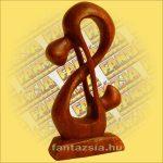 Absztrakt Fafaragvány 15cm L, Indonéz Sono Fa