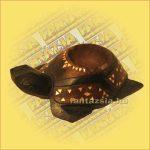 Teknős hamutartó lomboki 20cm
