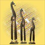 Ló figura fából 100cm